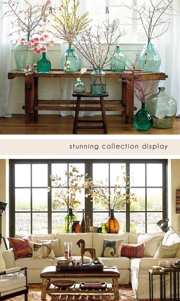glass jug collection