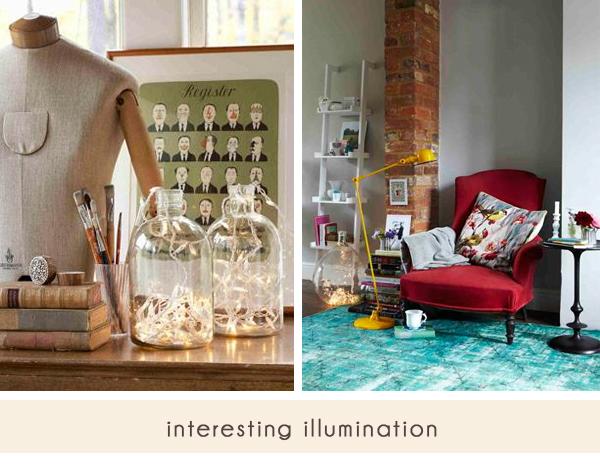 glass jug illumination