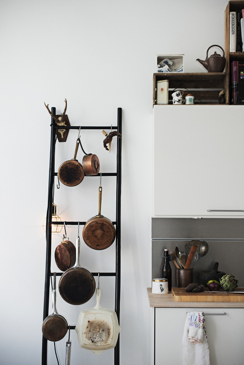 ladder kitchen