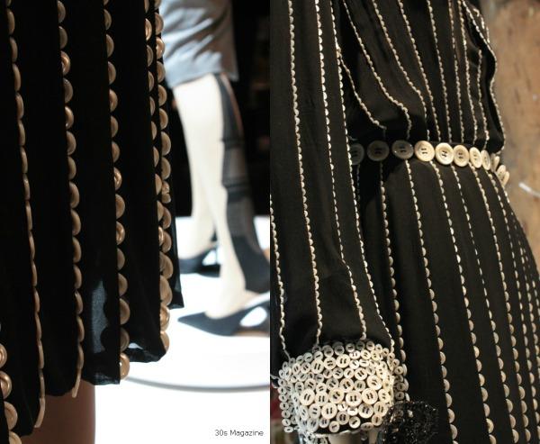 button dress JP Gaultier