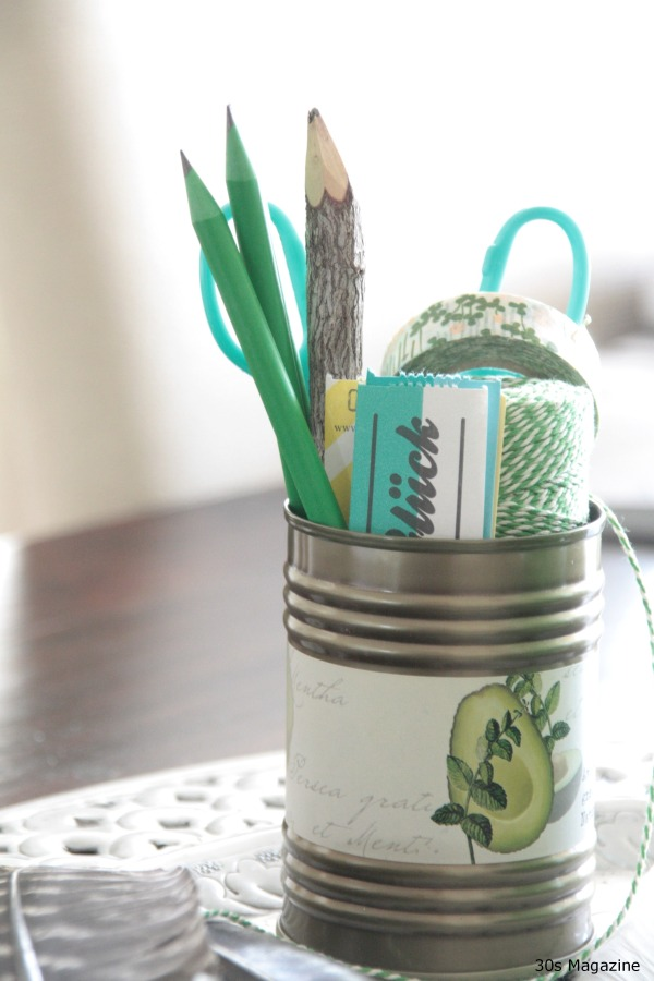 green crafts tin