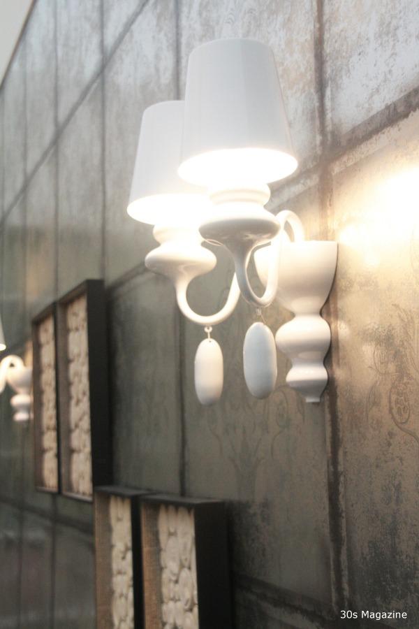 silver tile wallpaper