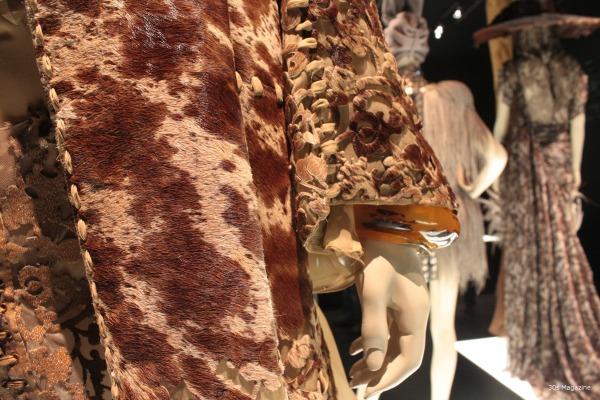 Jean Paul Gautier deer hide coat