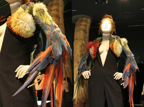 Jean PAul Gautier parrot design