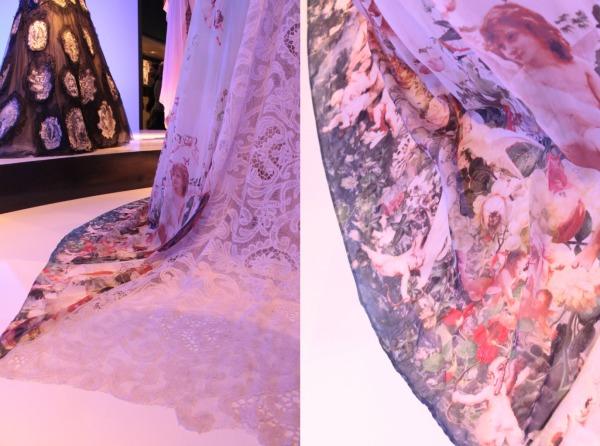 JP Gaultier angel fabric