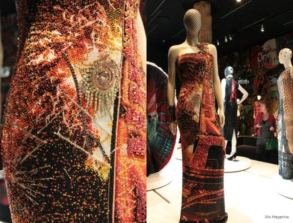 Paris bead dress
