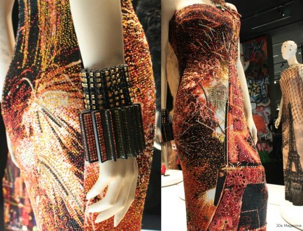 Paris beads dress
