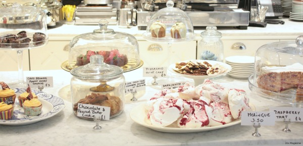 Ampersand pastry table