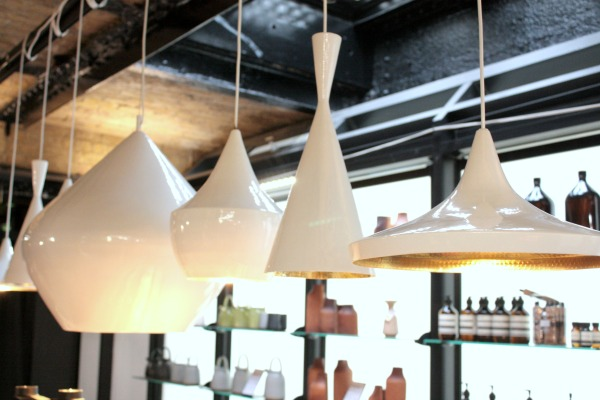 Tom Dixon Beat lights white