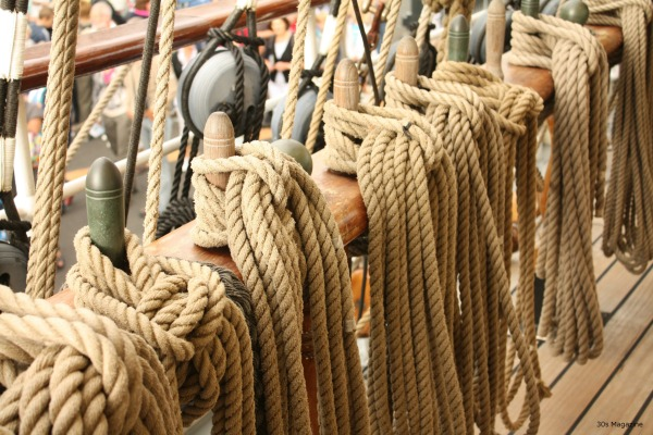 Stad Amsterdam ropes