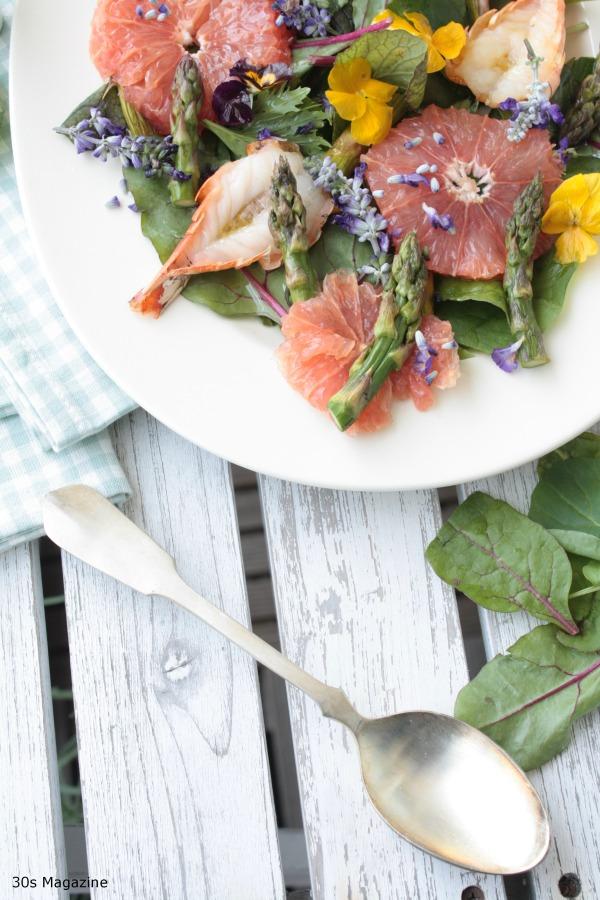 king prawn summer salad