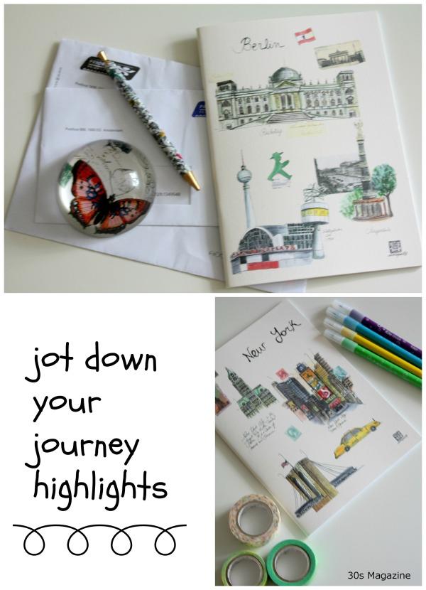 jot down your journey
