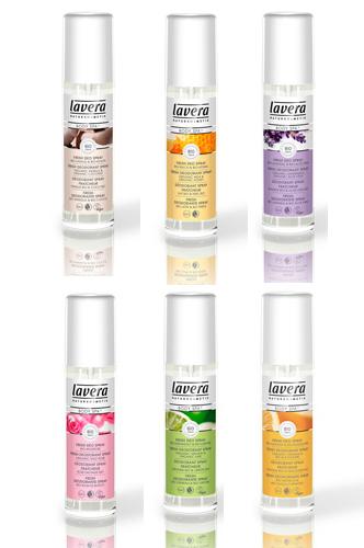 lavera deodorant sprays