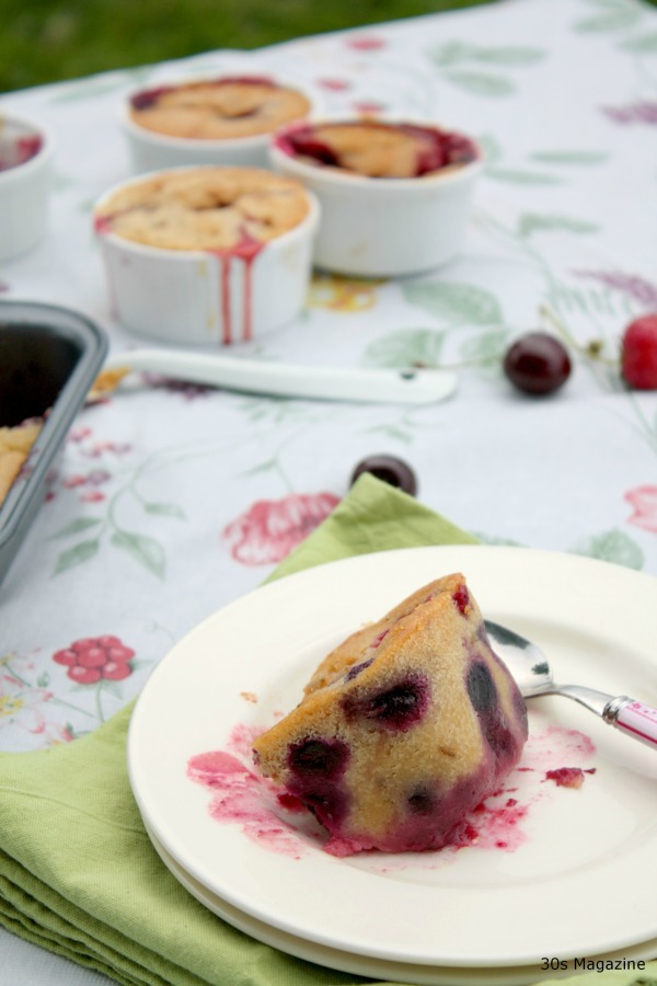 clafoutis with summer fruit