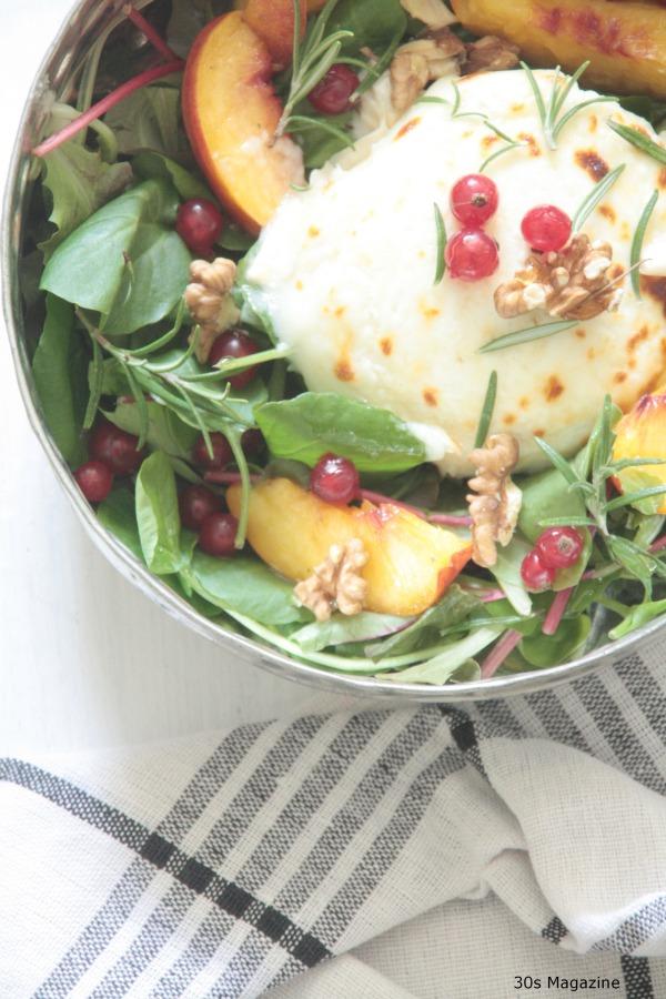 salade perzik