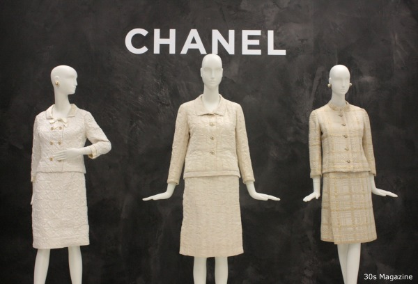 30s Magazine - Chanel white suits