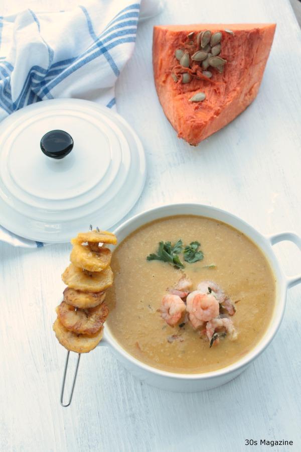 caribbean pumpkin soup