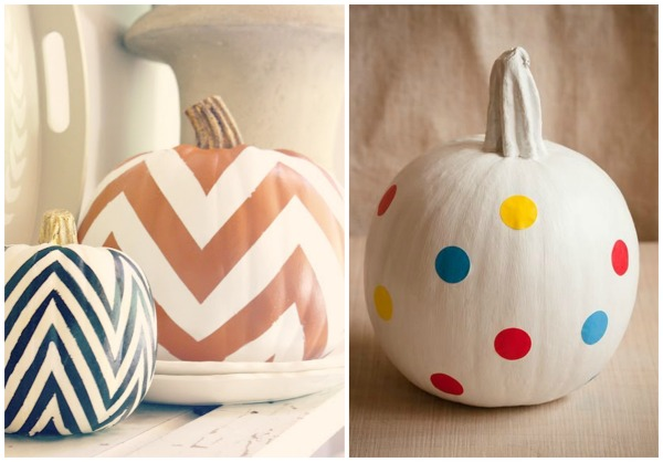 patterned pumpkins