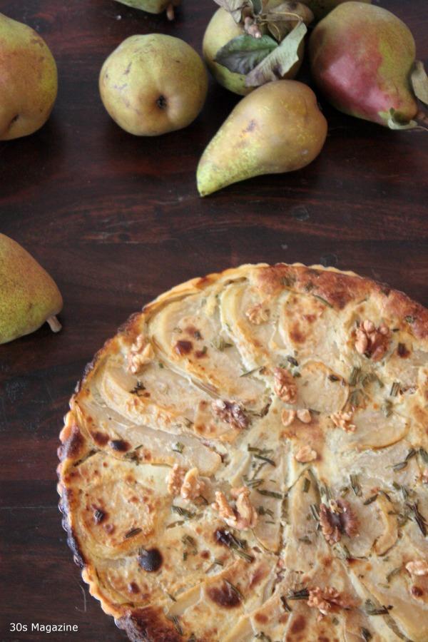 pear tart