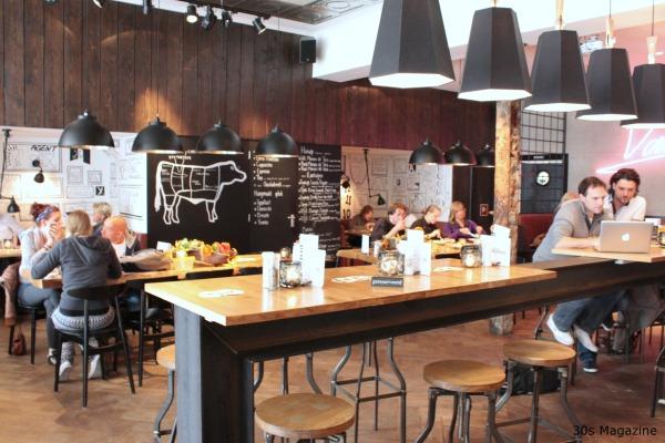 Cafe & Area interior design - Magazine cover