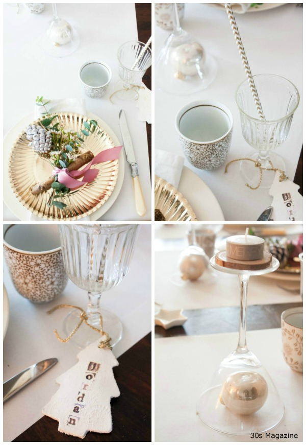 christmas brunch tablesetting