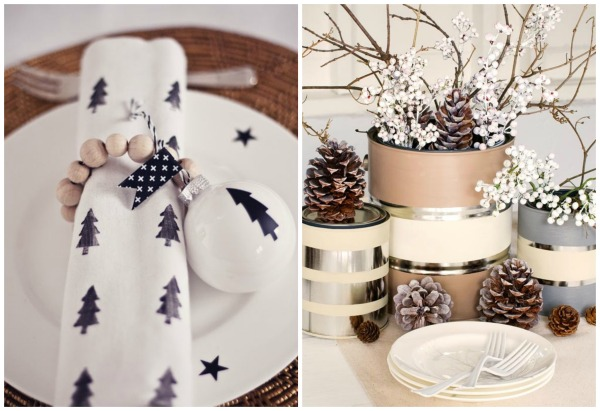 tablesetting rustic