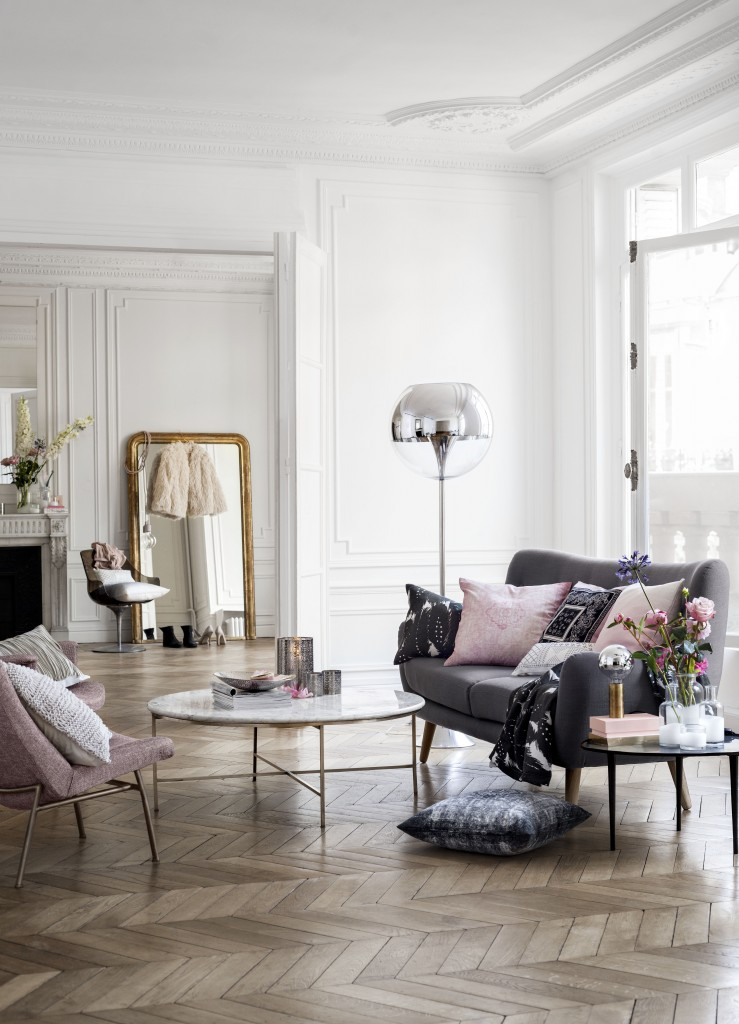 Parisian chic home decor 30s magazine Parisian style home