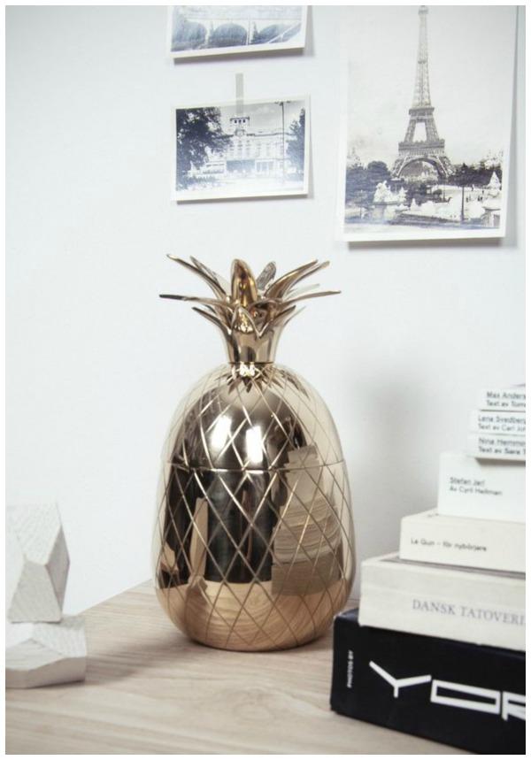 pineapple brass
