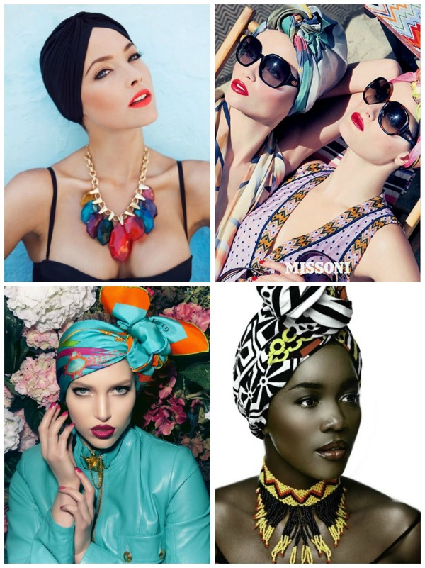 Turban collage