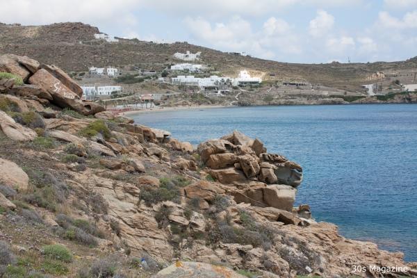 paraga beach shoreline