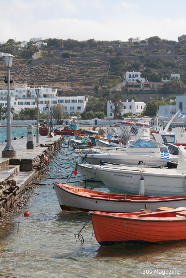 mykonos fisher harbour