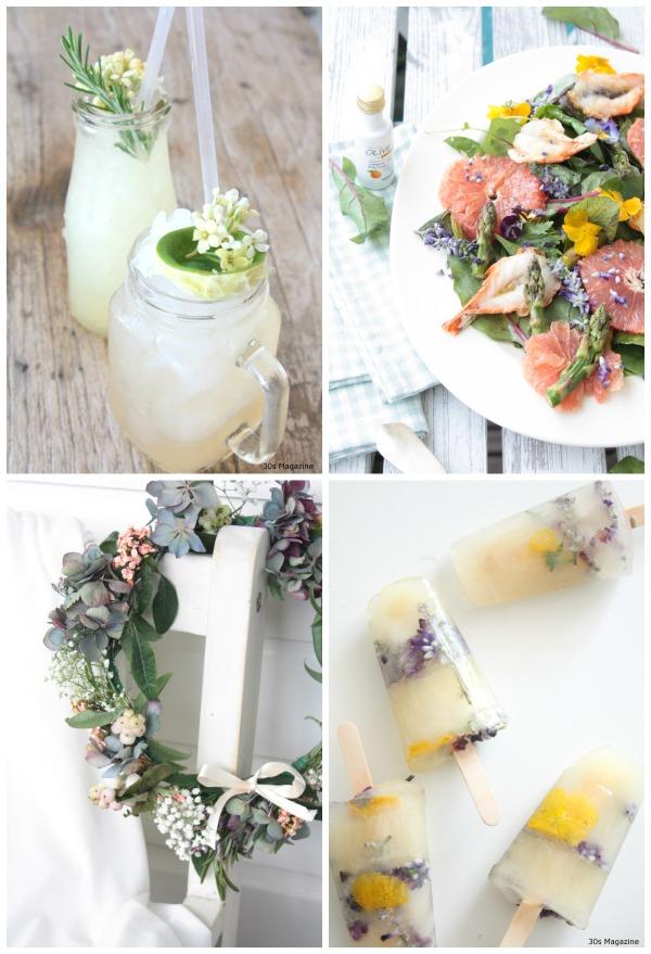 floral party ideas