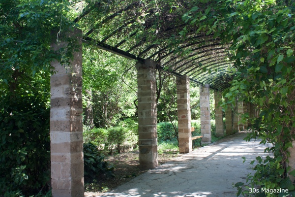 national garden in Athens