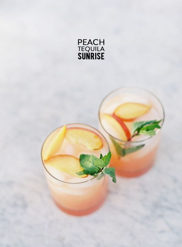 peach sunrise