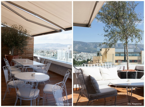 NEW hotel terrace
