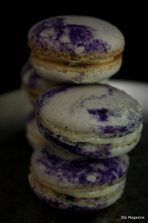 orgeat macarons