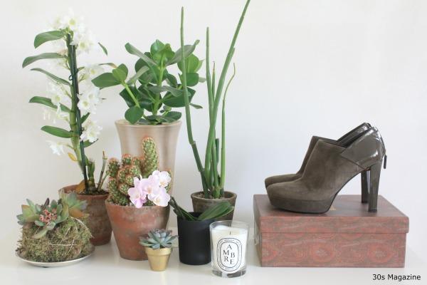 a plant shelfie in the bedroom 30s magazine