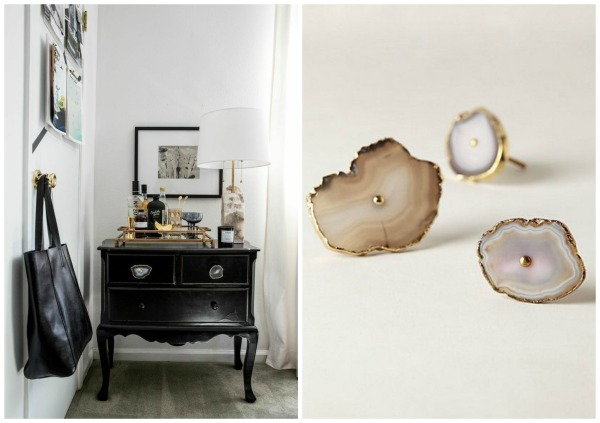 agate drawer knobs