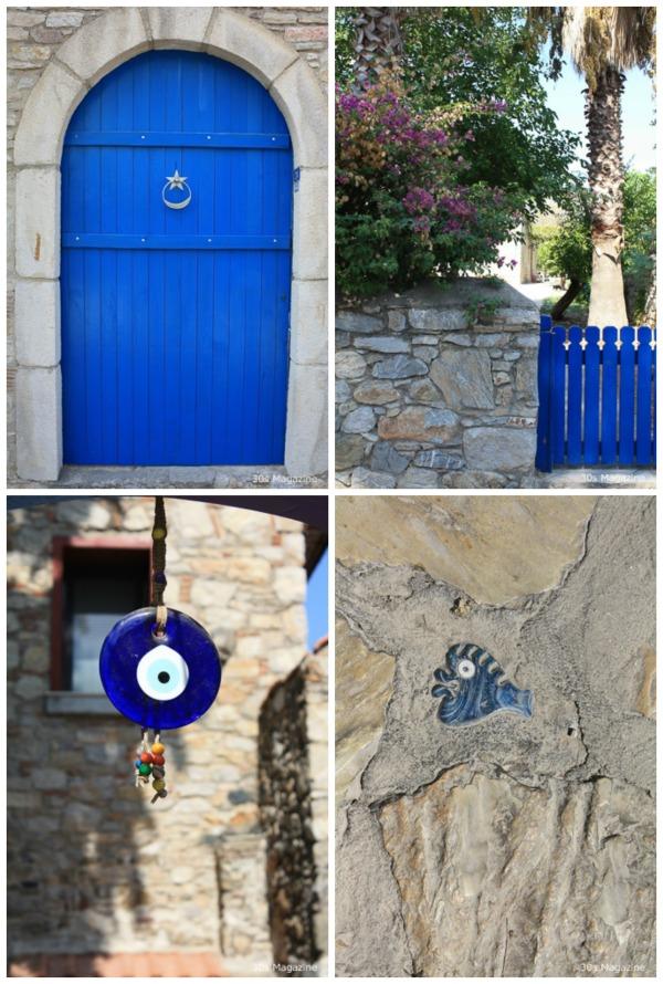 blue in eski Datca