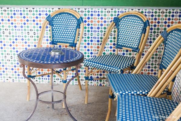 Grand Mosque Paris tearoom