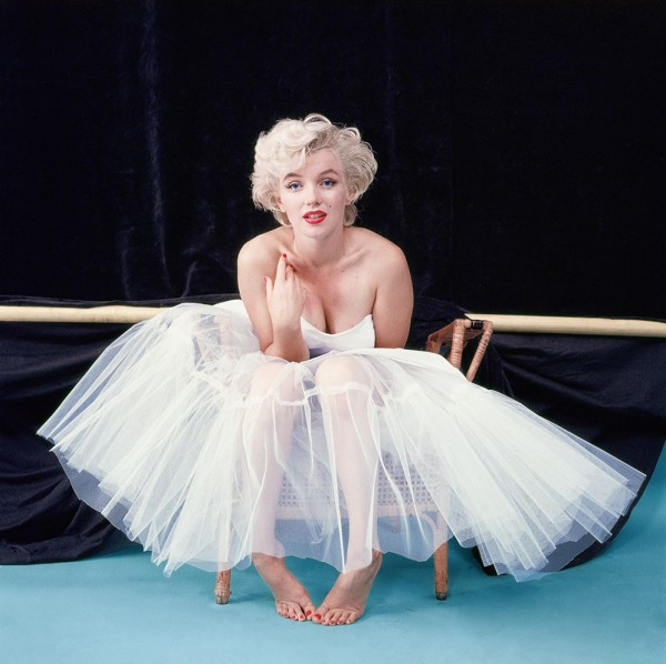 marilyn monroe as ballerina by Milton Greene 1954