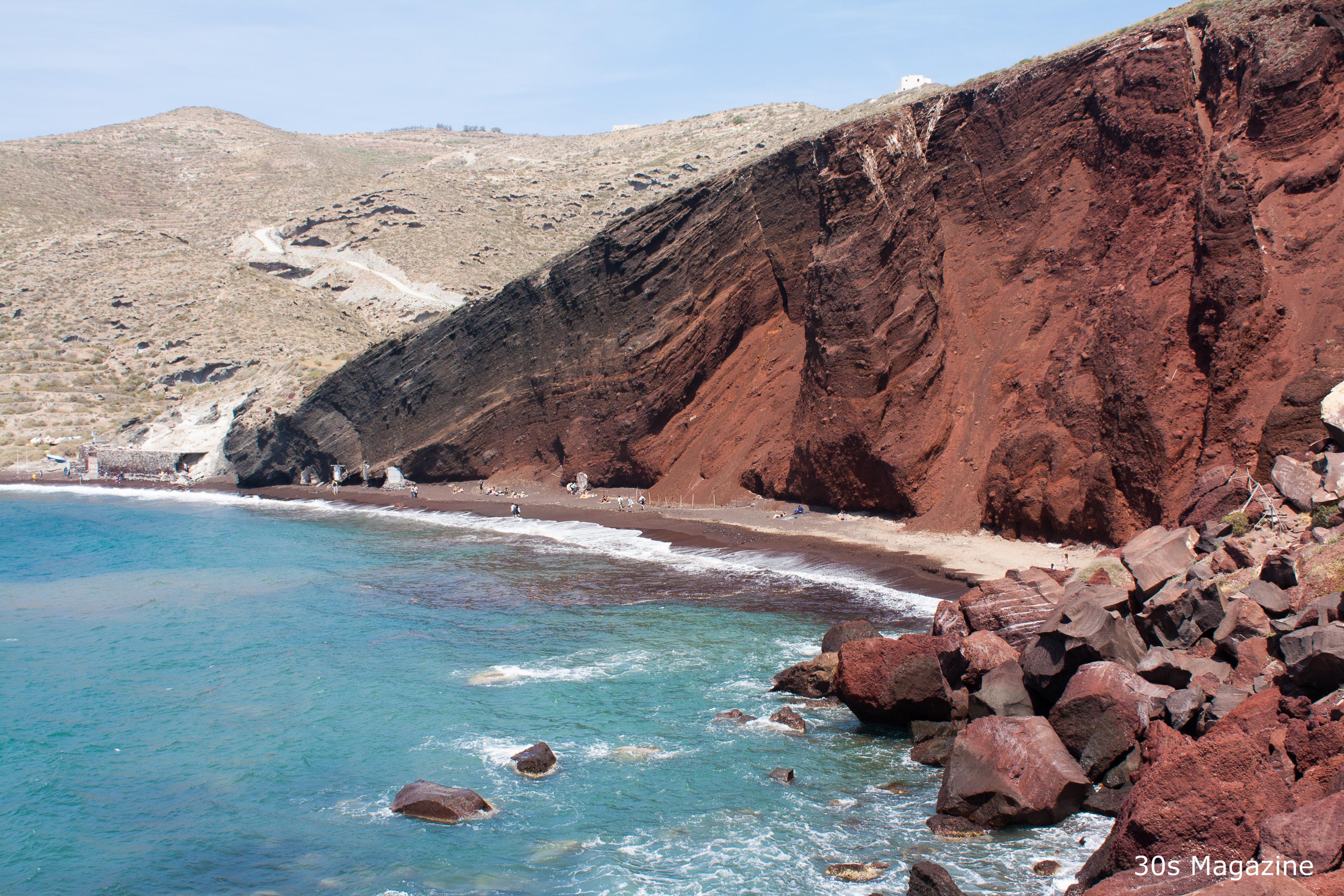 5 Best Beaches On Santorini 30s Magazine
