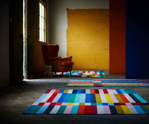 HALVED rug IKEA