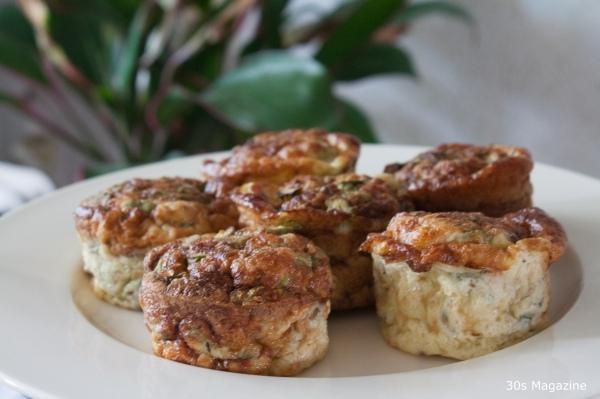 asparagus muffins