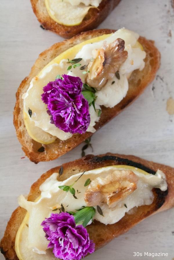 bruschetta goatcheese