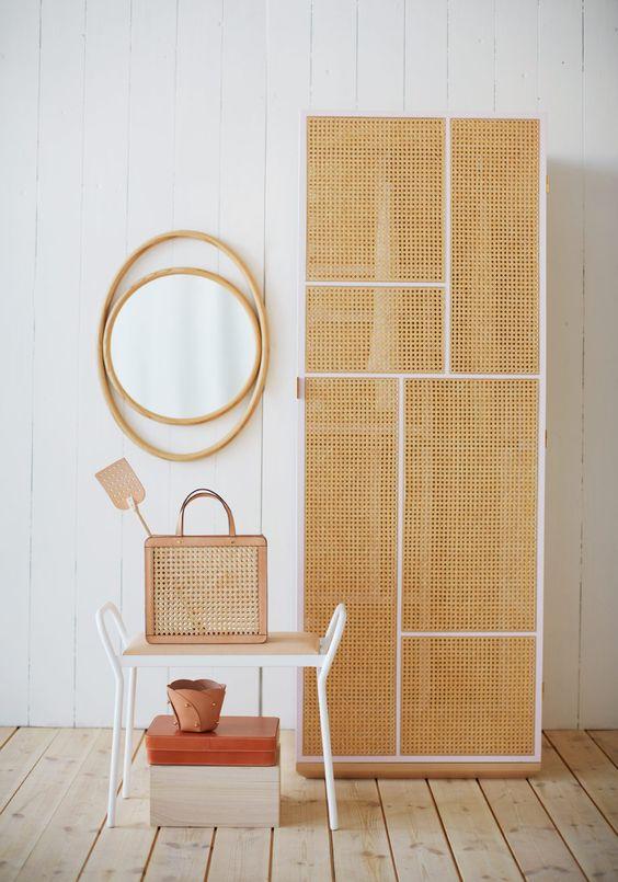 cane webbing closet