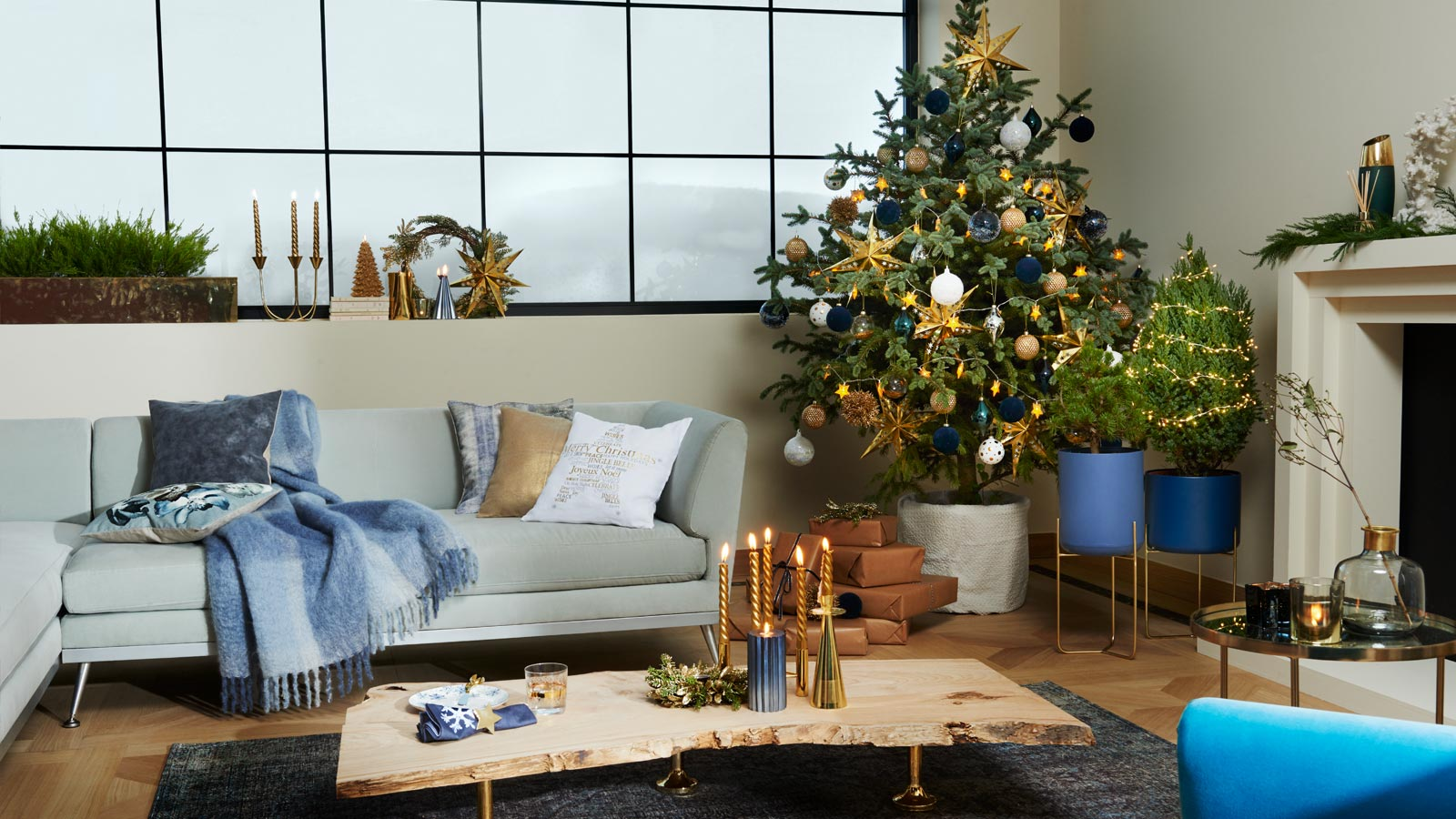 top 5 christmas trends 2017 30s magazine. Black Bedroom Furniture Sets. Home Design Ideas